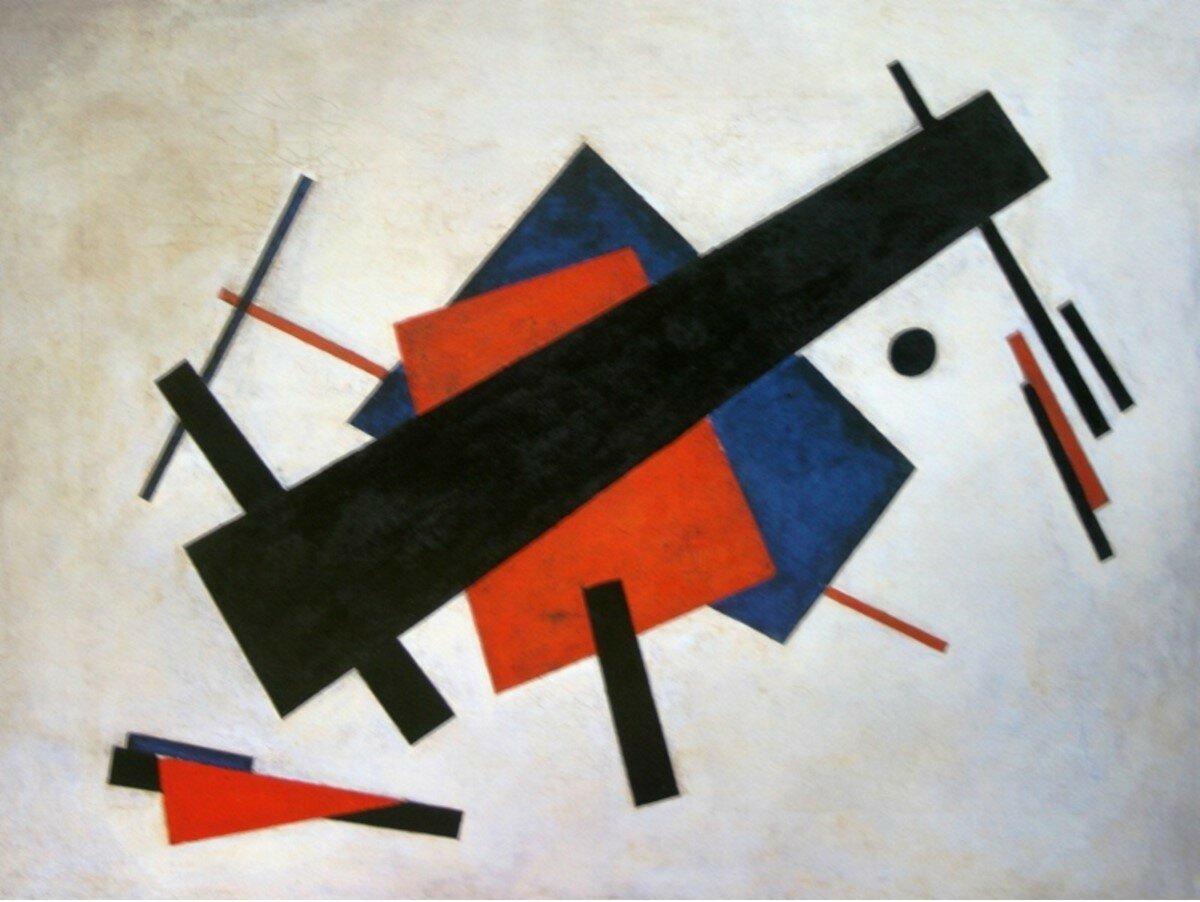 1920-1921. Суетин Николай. «Супрематизм»