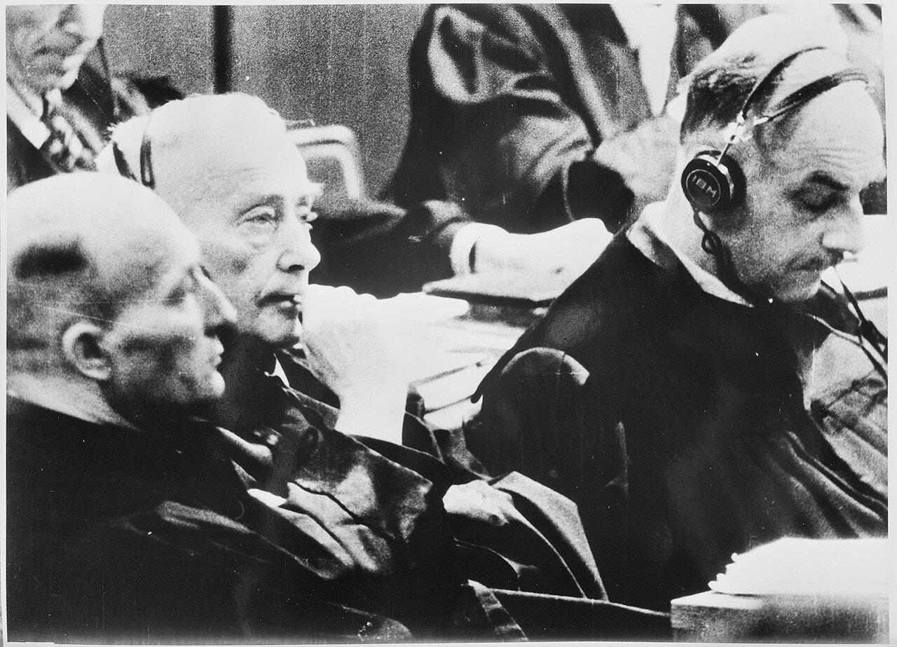 Немецкие юристы, защитники главных военных преступников