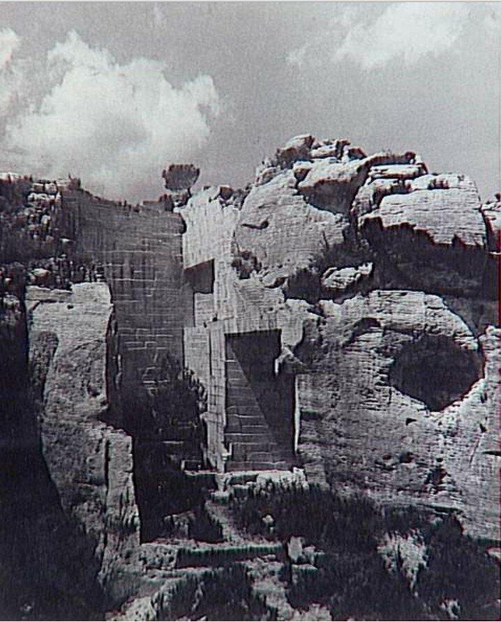 1937. Карьер в Ле-Бо-де-Прованс