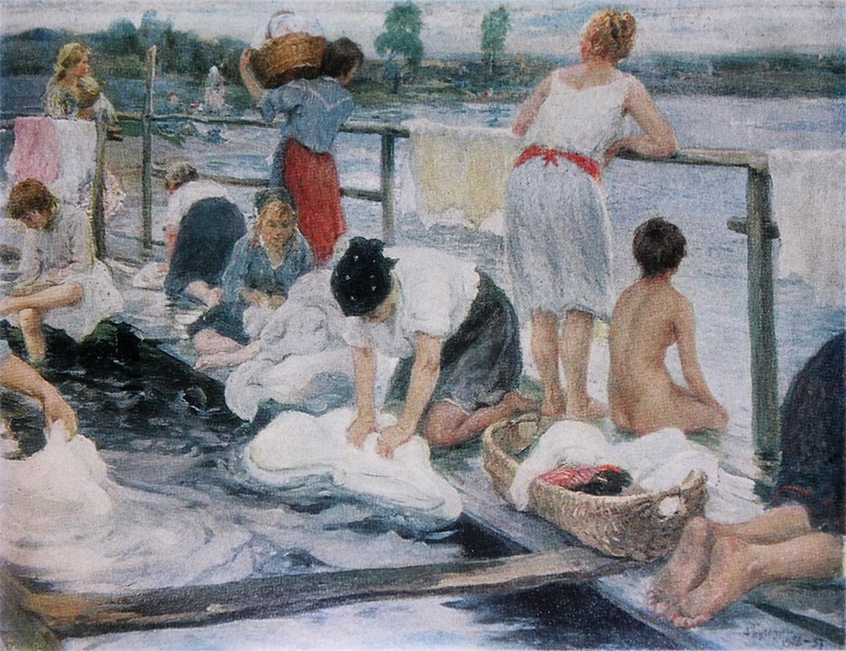 Прачки, 1905, Бучкури Александр Алексеевич (1870-1942)