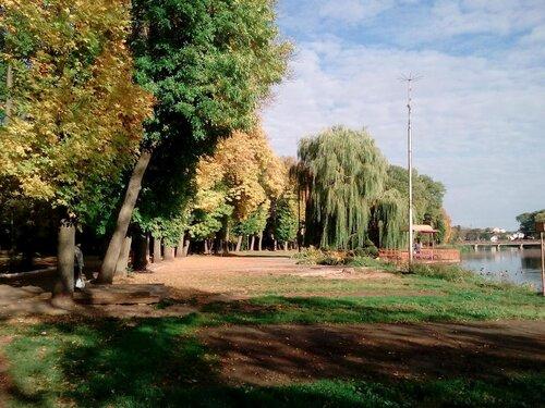 Осень. Советск. Городское озеро