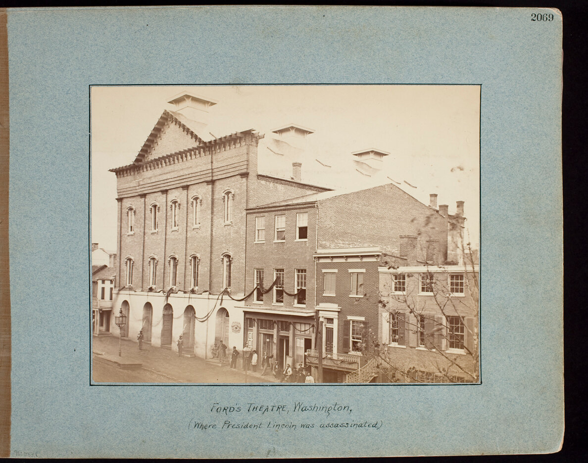 Ford's Theatre, Washington, (Where President Lincoln was Assassinated)