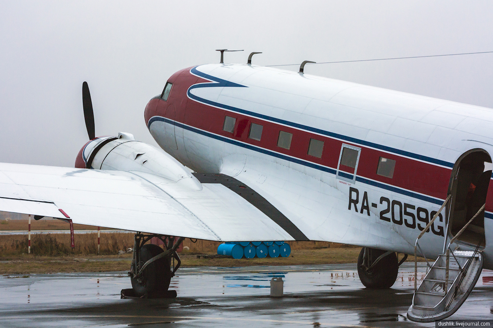 Легендарный Дуглас DC-3 «Дакота» в Челябинске