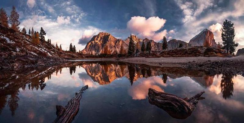 Осенние озера: 30 фотографий 0 145de8 5881c15b orig
