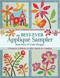 Книга The Best-Ever Applique Sampler from Piece O'Cake Design
