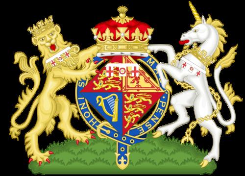 Coat of Arms of Elizabeth, Duchess of Edinburgh (1947-1952)