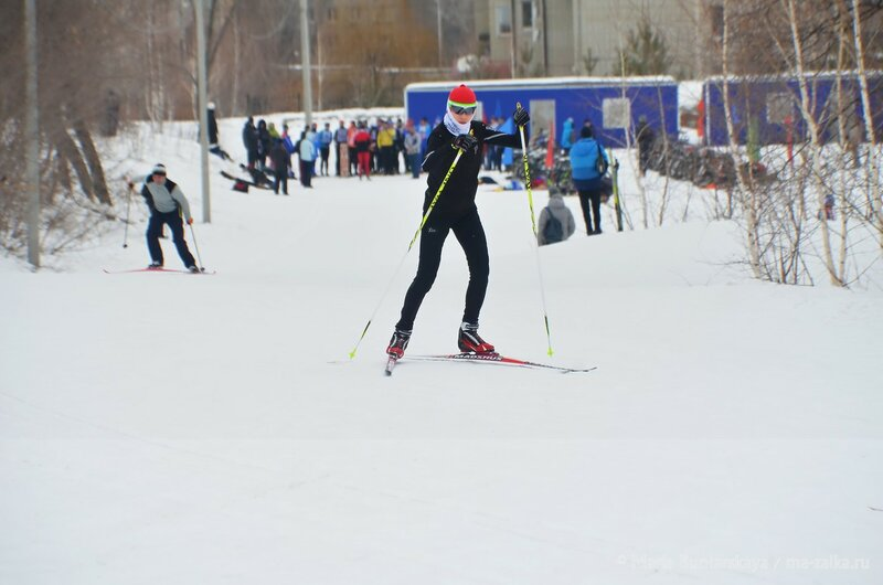Триатлон на лыжном стадионе, Саратов, 09 марта 2015 года