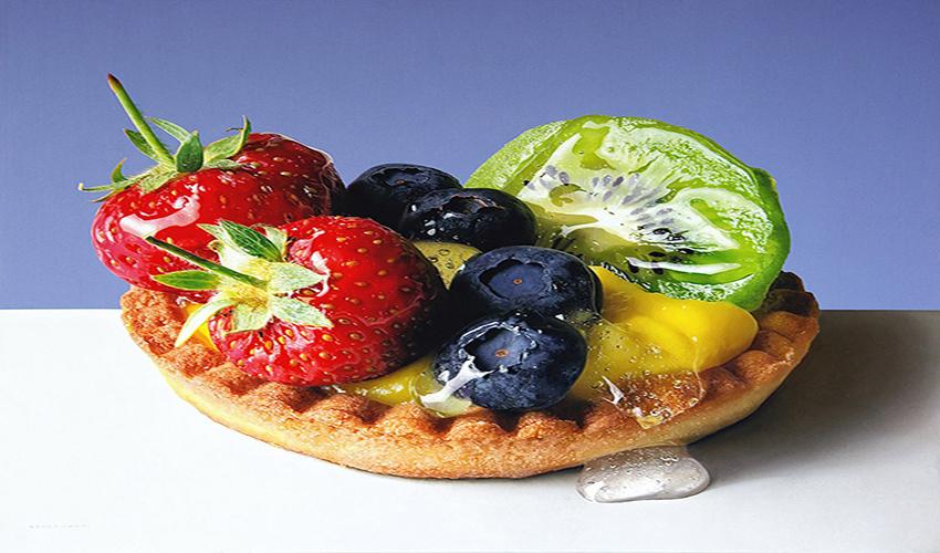 Photo-realistic Food Painting by Luigi Benedicenti