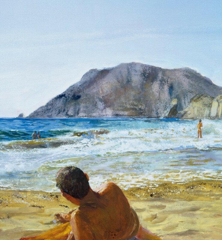 И только море было вправе твоей гордиться наготой. Греческая художница Мария Filopou