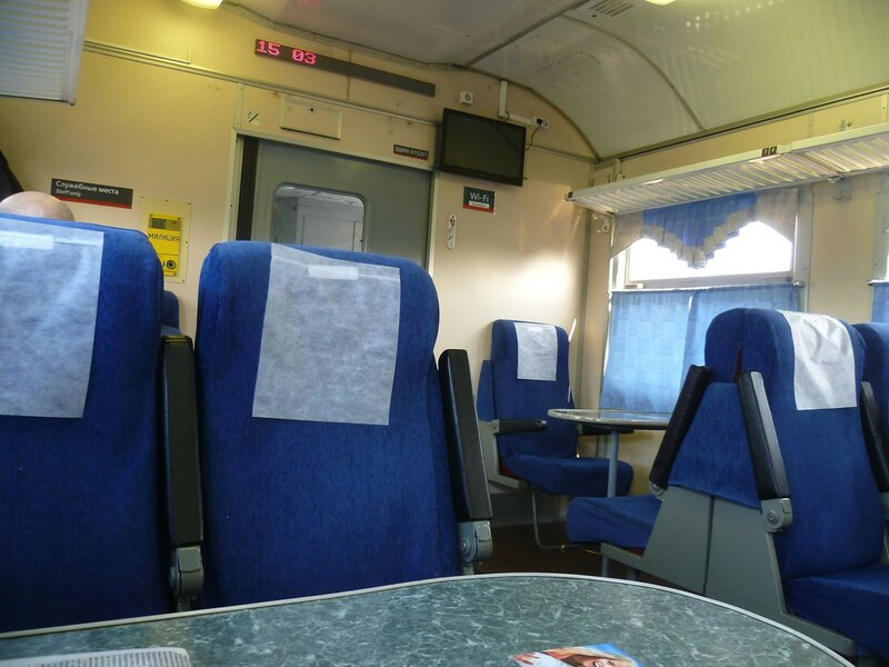 Электричка Омск-Новосибирск (Train Omsk-Novosibirsk)