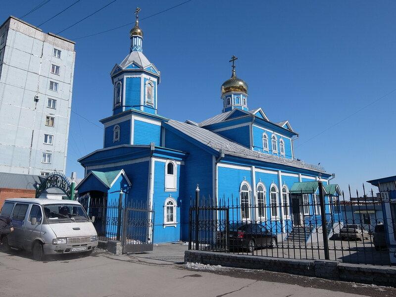 Белово | Церковь Вознесения Господня
