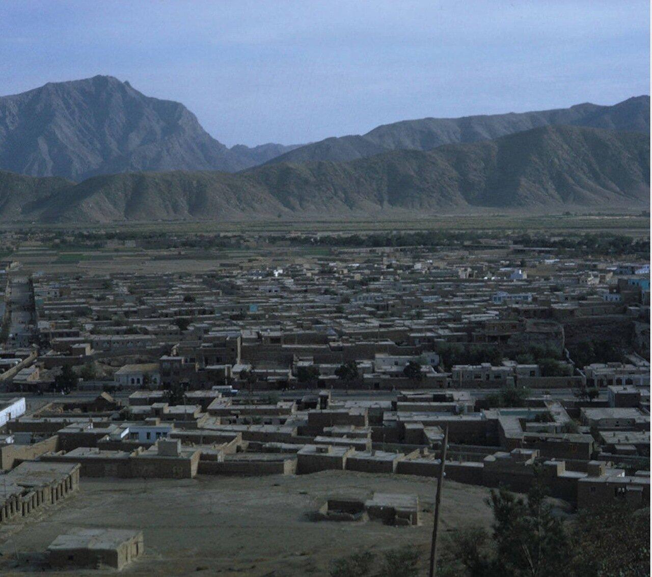 Панорама Кабула