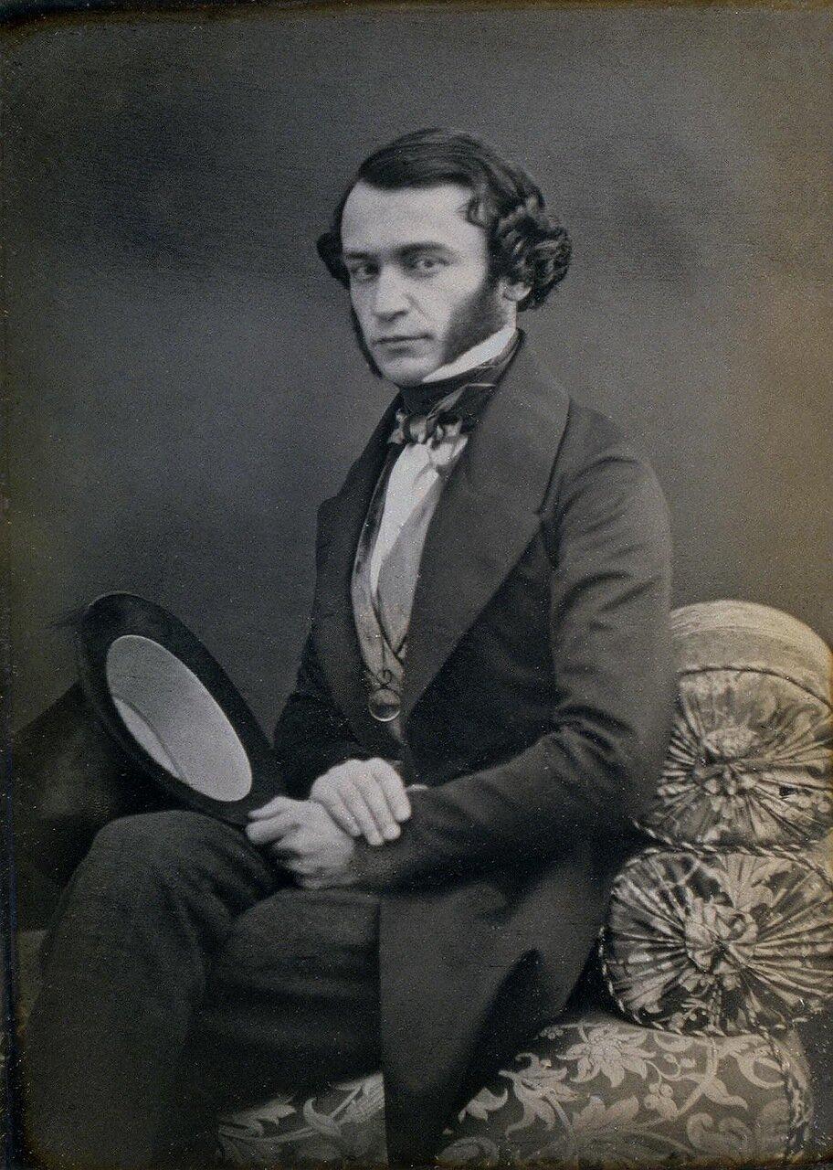 Портрет молодого человека.1840-е