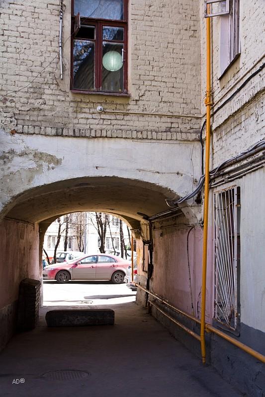Задворки на месте бывшего немецкого рынка