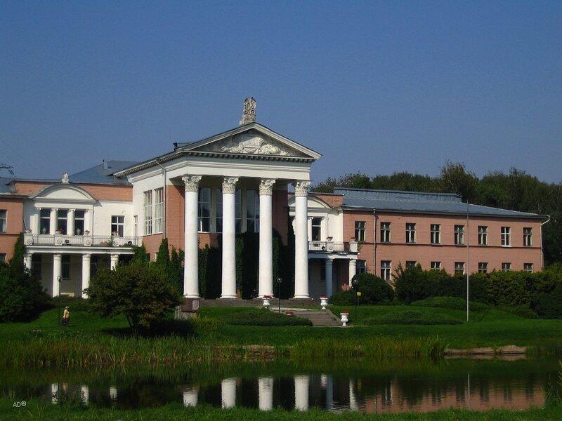 Лабораторный корпус Главного Ботанического сада РАН. Построен в 1950-1951 годах