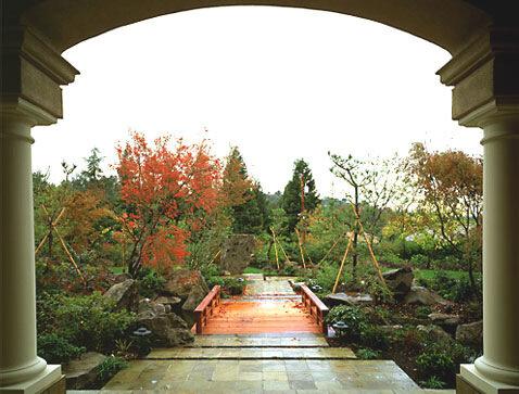 японский сад в средиземноморье
