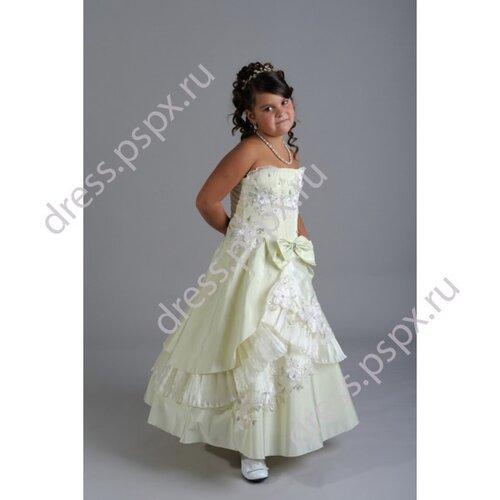 Платья фото детские пышные платья