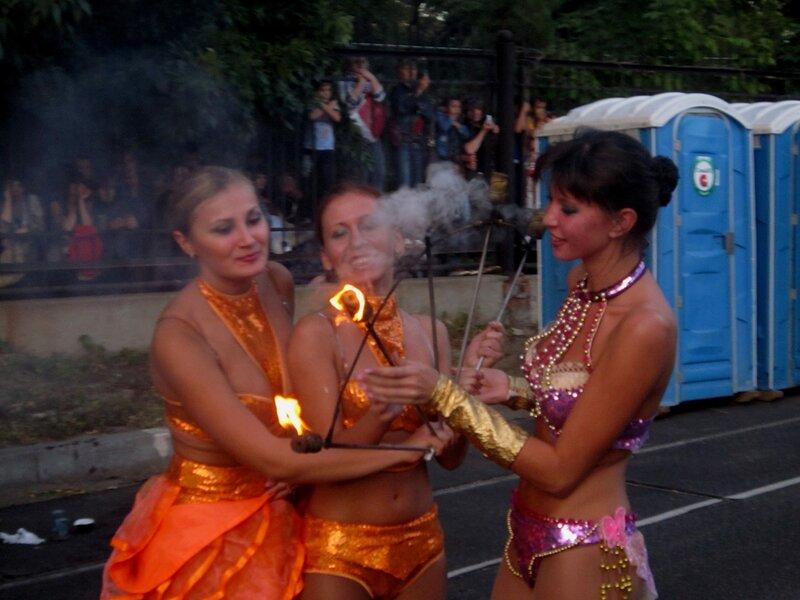 Праздник города Саратова на стадионе 'Динамо'