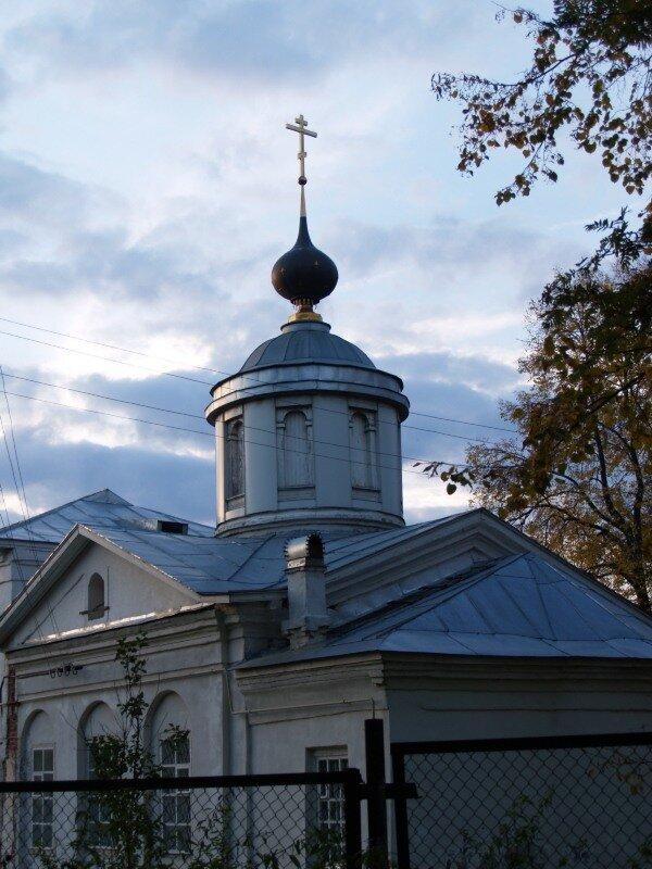 Церковь Иоанна Златоуста в монастыре