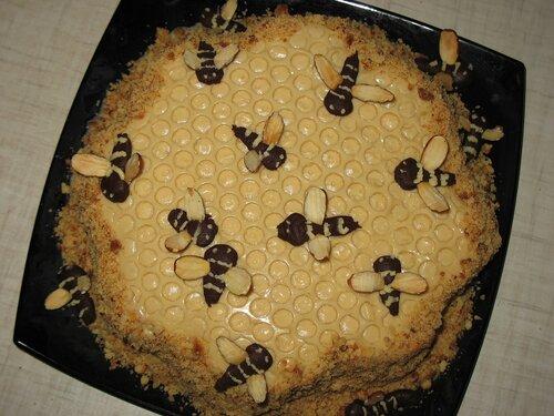 Рецепт торта пчелка в домашних условиях с  695