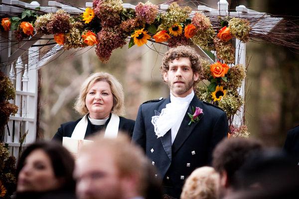 Halloween Wedding by Geneve Hoffman Photography