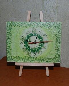 Часы-мольберт