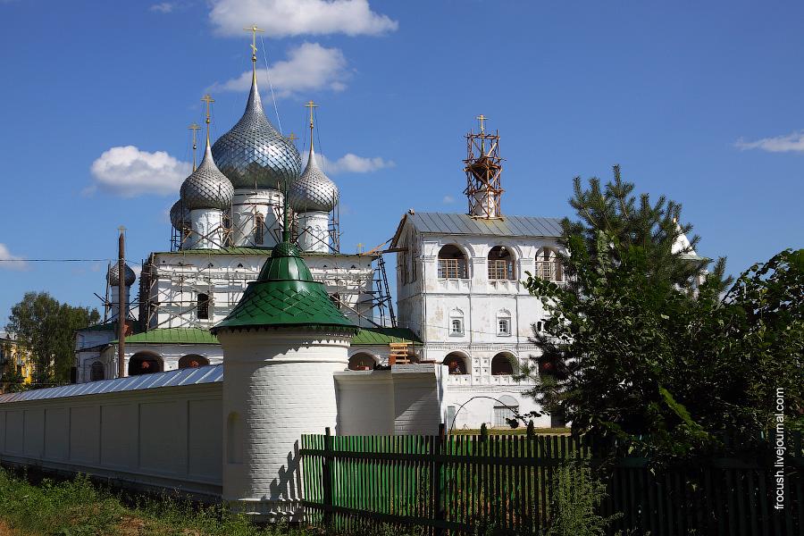 Углич. Воскресенский монастырь