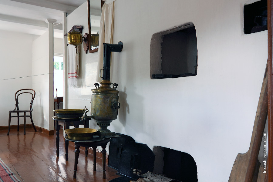 Дом-музей В.И.Ленина. Кухня.