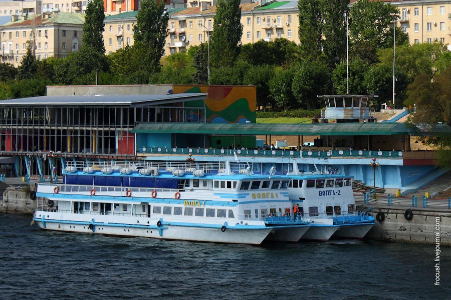 Прогулочные катамараны «Волга-1» и «Волга-2»