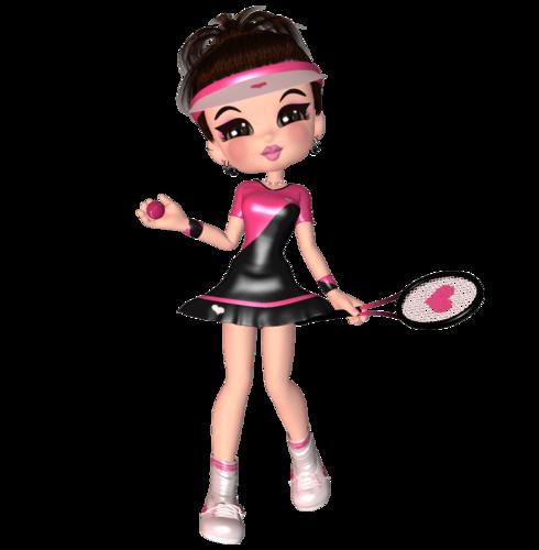 Куки-теннисистка