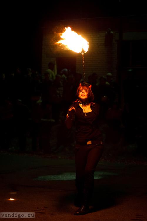 fire show, фаер шоу