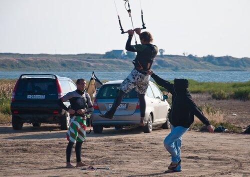 Кайтсерфинг в Анапе 11.09.2010