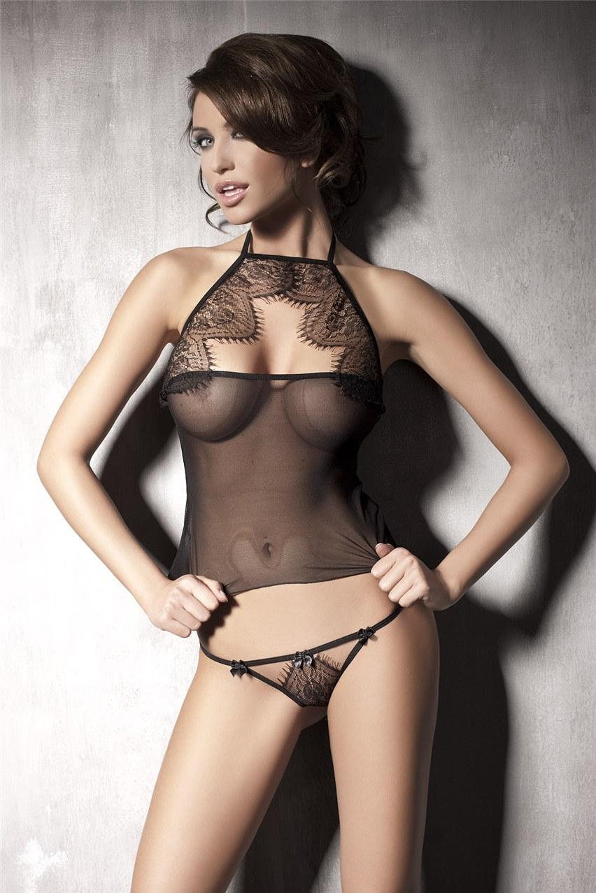 Nude hot lingerie models