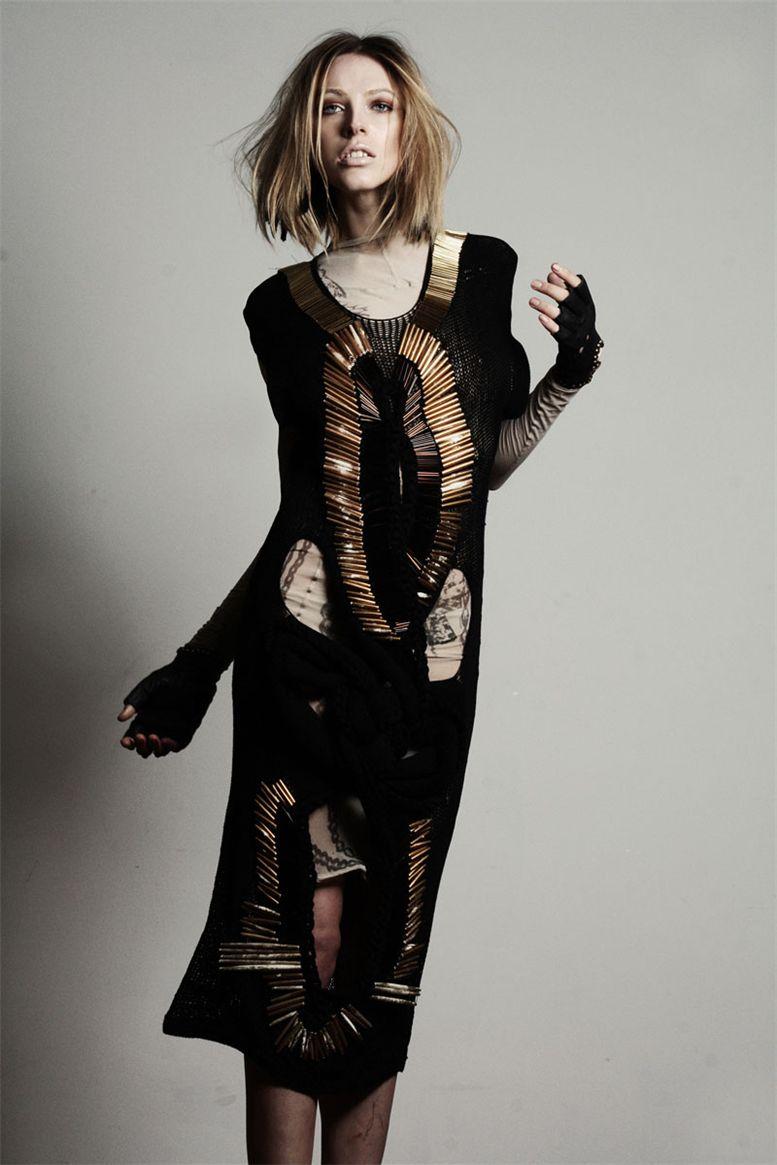 модель Polly Brown / Полли Браун, фотограф Damon Baker