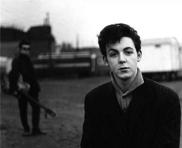 Paul McCartney Hamburg, Germany 1960