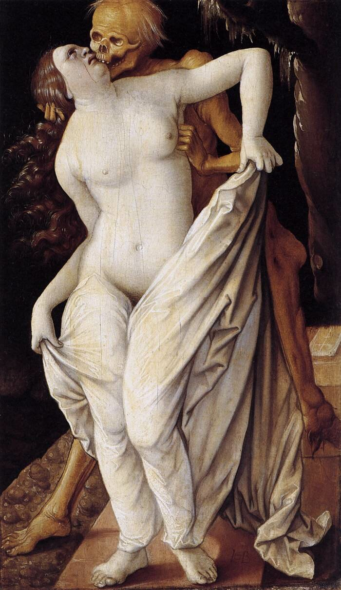 Hans BALDUNG GRIEN Death and the Maiden Dornai
