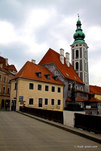 ратуша, чески-крумлов, чехия