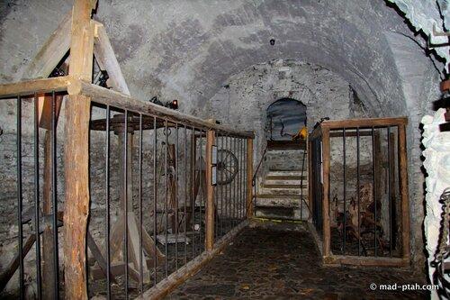музей пыток, клетки, чески-крумлов