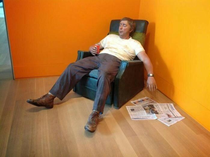 Гиперреализм в скульптурах Дуэйна Хэнсона