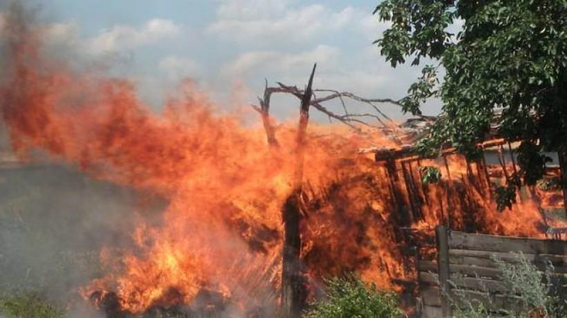 Пожар вВасильевке локализован