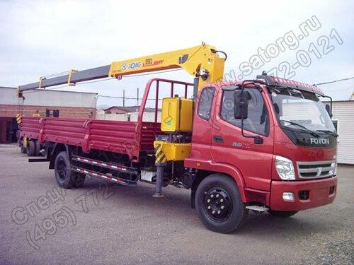 грузовик фотон с кран манипулятором