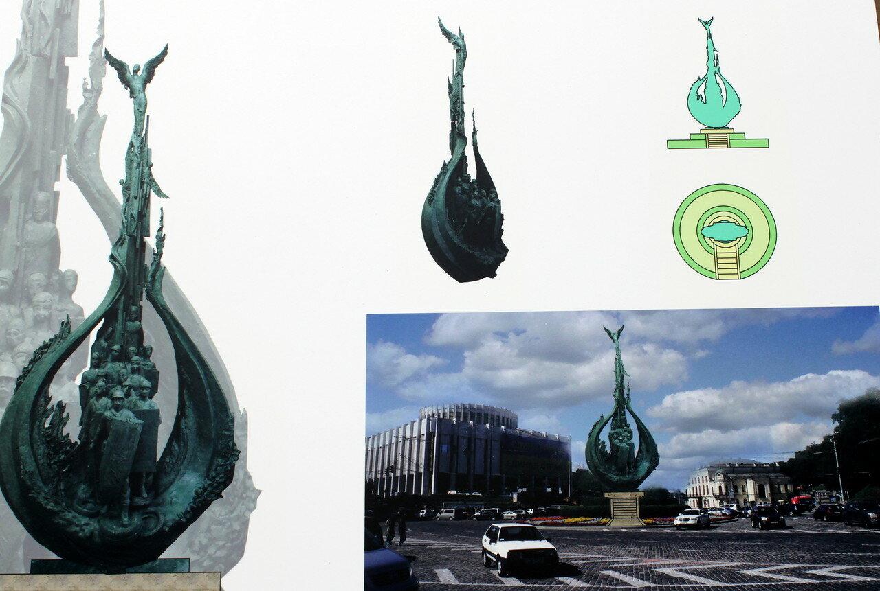 Проект памятника на Европейской площади