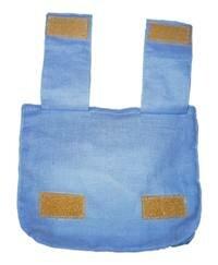 Как крепится сумочка на пояс рюкзака (вид сзади)