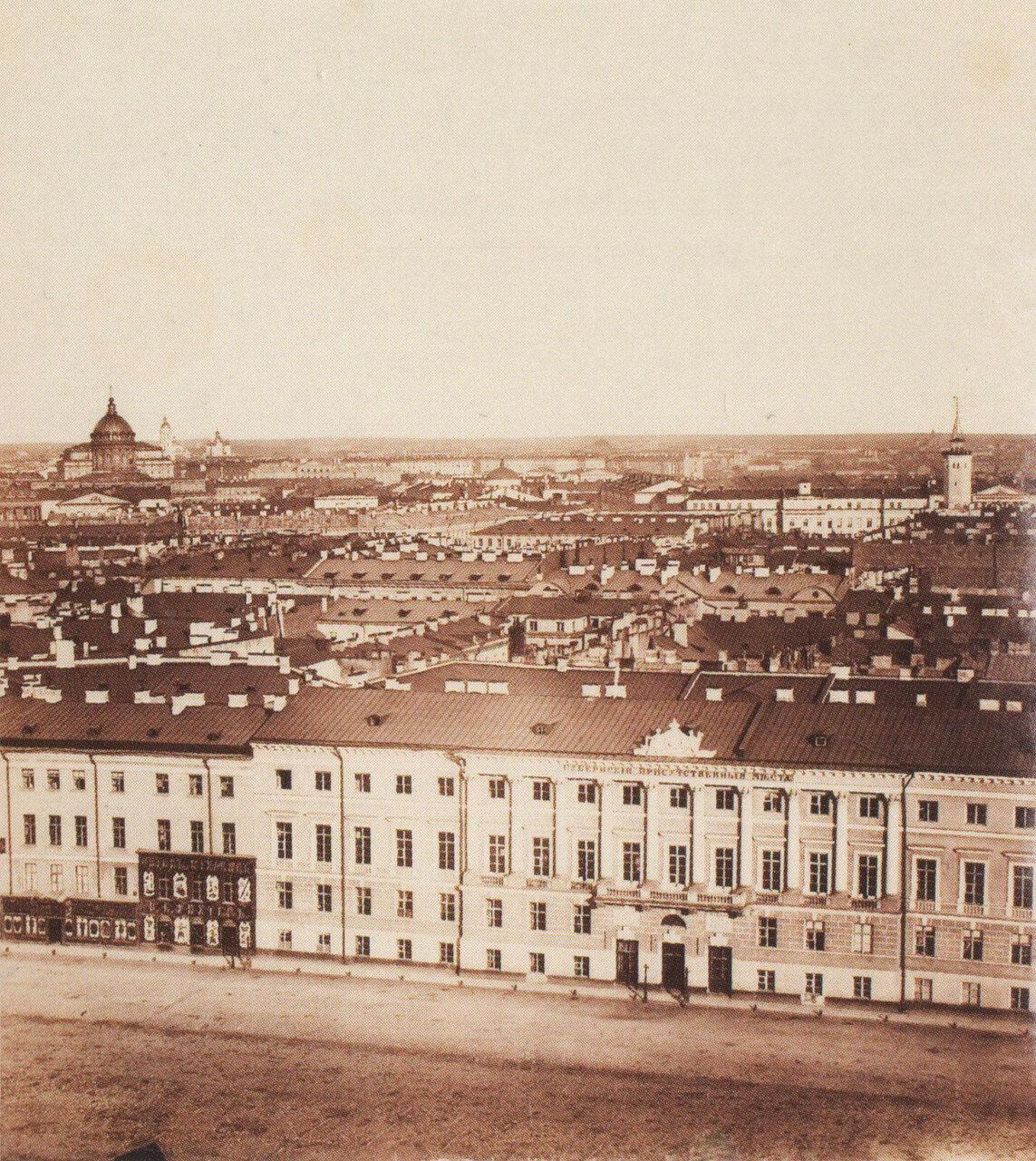 Панорама Санкт-Петербурга. 1861.10