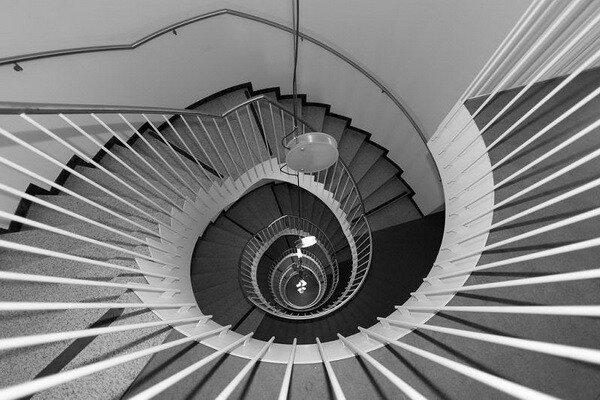 Лестница винтовая, спиральная