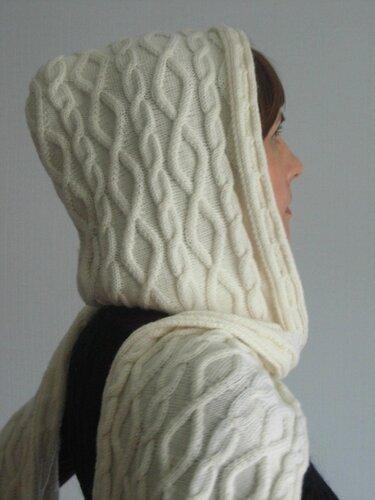 шарф капюшон снуд схемы крючком. на основе более.  3 баллов из.