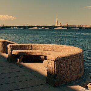 Вспоминая о 80-х (Нева, Петербург, Петропавловская крепость, Триоцкий мост)