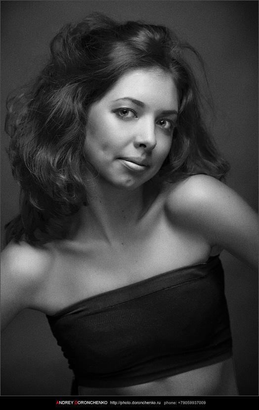 Фотограф Доронченко Андрей, Новокузнецк. Портрет девушки.