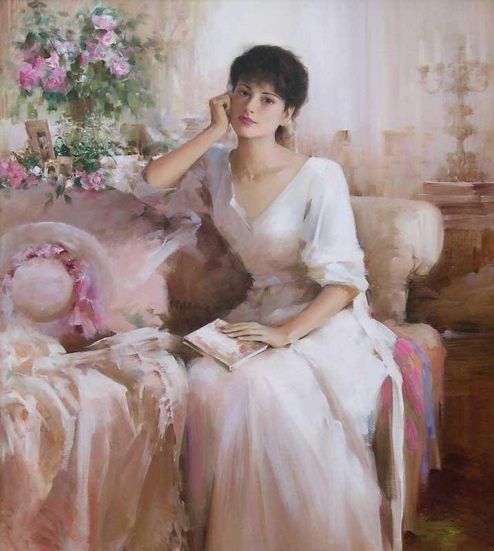 женская живопись:
