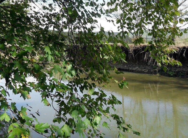 У реки Каверза